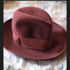 19bbee8da7536 Philippe Model Accessories - Rare vintage Philippe Model Red Wool field hat